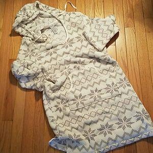 Nautica Comfy fuzzy nightgown